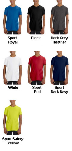 All Sport Youth Performance T-Shirt - All Colors