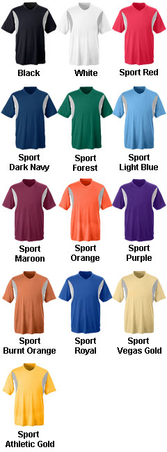 Team 365 Mens Athletic V-Neck All Sport Jersey - All Colors