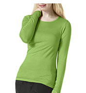 Silky Long Sleeve Base Layer Tee