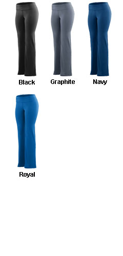 Girls Wide Waist Poly/Spandex Pant - All Colors