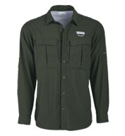 Custom Mens Cascades Explorer ® Long Sleeve Shirt by Columbia