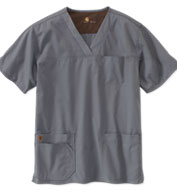 Custom Carhartt Medical® Mens Ripstop Multi-Pocket Scrub Top