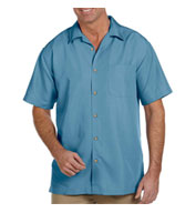 Custom Mens Barbados Textured Camp Shirt