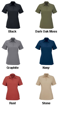 Ladies Excursion Crosscheck Performance Woven Polo - All Colors