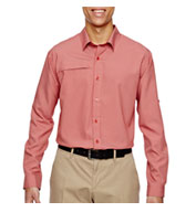 Mens Excursion Textured Performance Shirt