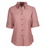 Custom Ladies Excursion Textured Performance Shirt