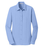 Ladies Dimension Knit Moisture Wicking Dress Shirt