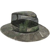 Camo Outback Hat with Mesh Crown