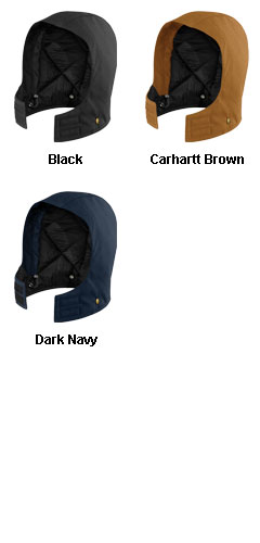 Carhartt Artic-Quilt Lined Duck Hood - All Colors