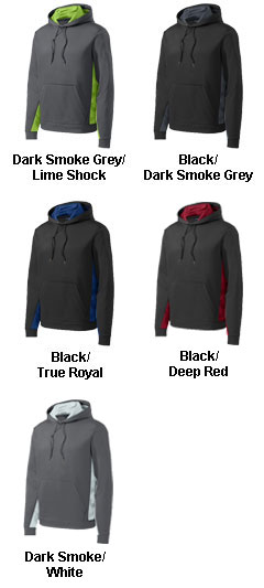 CamoHex Fleece Colorblocked Hooded Pullover - All Colors