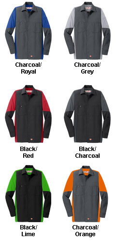 Red Kap Long Sleeve Crew Shirt - All Colors