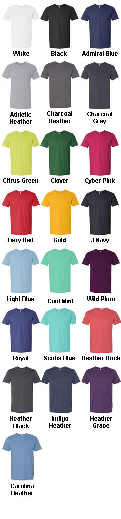 Fruit of the Loom Sofspun� Cotton Jersey T-Shirt - All Colors