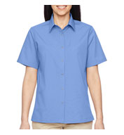 Ladies Advantage Snap Closure Short-Sleeve Shirt