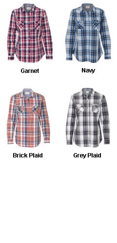 Weatherproof® Ladies Vintage Plaid Long Sleeve Shirt - All Colors