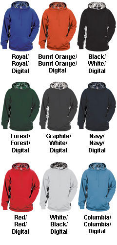Youth Digital Hood by Badger Sports - All Colors