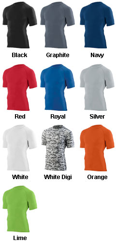 Youth Hyperform Compression Short Sleeve Shirt - All Colors