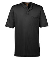 Mens Prime Short-Sleeve Performance Henley