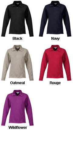 Ramsay Ladies 1/4-Zip Fleece  Pullover - All Colors