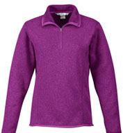 Custom Ramsay Ladies 1/4-Zip Fleece  Pullover