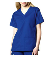 Custom WonderWink® Ladies V-Neck Scrub Top