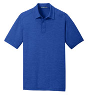 Custom Mens Digi Heather Performance Polo