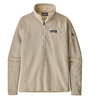 Womens Patagonia Better Sweater® 1/4 Zip Pullover