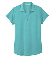 Ladies Digi Heather Performance Polo