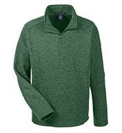 Custom Mens Bristol Sweater Fleece Half-Zip