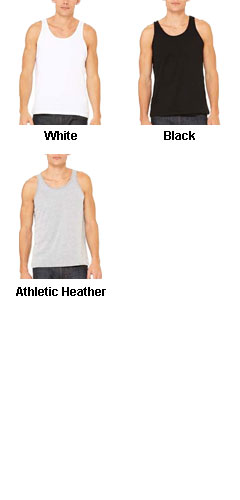 Unisex Made in the USA Jersey Tank - All Colors