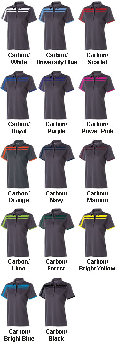Ladies Charge Polo by Holloway USA - All Colors