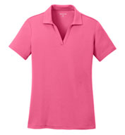 Custom Ladies Posicharge� Racermesh� Polo