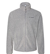 Custom Columbia Mens Colorblock Full-Zip Steens Mountain Fleece Jacket