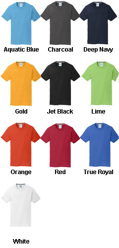 Youth Essential Blended Performance Tee - All Colors
