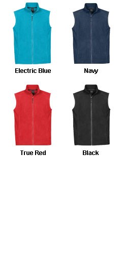 Mens Eclipse Fleece Vest - All Colors
