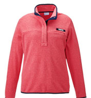 Custom Columbia Ladies Harborside Fleece Pullover