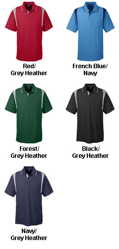 Mens Drytec20™ Performance Colorblock Polo - All Colors