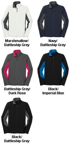 Ladies Core Colorblock Soft Shell Jacket - All Colors