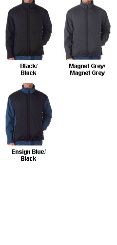 Ultra Club Soft Shell Jacket With Quilted Front & Back - All Colors