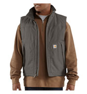 Custom Carhartt Quick Duck Jefferson Vest Mens