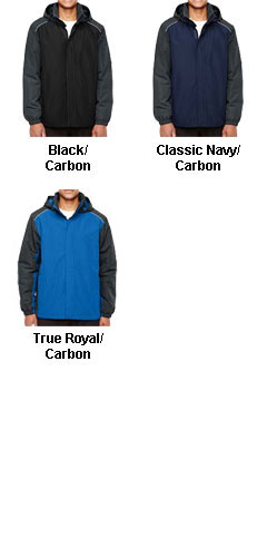 Core 365 Mens  Inspire Colorblock All-Season Jacket  - All Colors