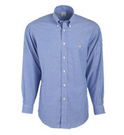 Custom Brooks Brothers 346 Mens Button-Down Collar Non-Iron Oxford Long Sleeve Sport Shirt