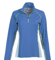 Custom Columbia Womens Freeze Degree�III Half-Zip Color Block Long-Sleeve