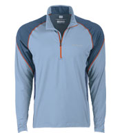 Custom Columbia Mens Freeze Degree� Colorblock Half-Zip