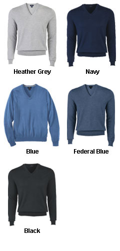 Brooks Brother 346 Mens Cotton V-Neck Sweater - All Colors