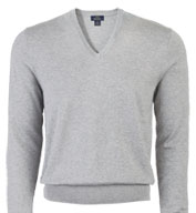 Custom Brooks Brother 346 Mens Cotton V-Neck Sweater