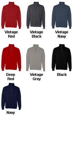 Hanes Nano Fleece 1/4 Zip Sweatshirt - All Colors