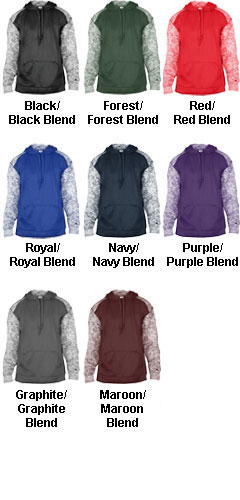 Adult Blend Sport Hood - All Colors