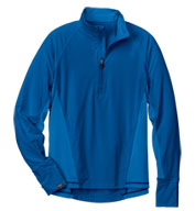Mens High Stretch Half-Zip Pullover