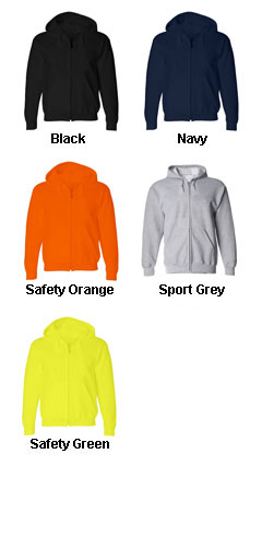 Gildan DryBlend� 50/50 Full-Zip Sweatshirt - All Colors