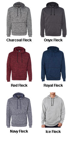 J America Cosmic Poly Hooded Pullover Sweatshirt - All Colors